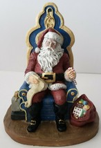 Vintage Collectible The Classic American Modern Santa Circa 1990 Limited Edition - $87.07