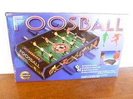 TABLETOP FOOSBALL GAME FROM SPORT DESIGN - NEW IN BOX - $18.41