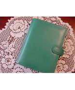 Filofax Finsbury Forest Green Pocket Organizer 2019, New - $50.00