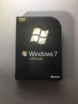 Microsoft Windows 7 Ultimate Upgrade Retail Box  SKU-GLC-00184 32/64 Bit... - $153.44
