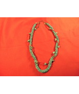 """16"""" Turquoise and Coral, Choker Necklace - $34.99"""