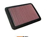 K&N Replacement Air Filter Fits Hyundai Santa-Fe 3.5L-V6; 2005 33-2312
