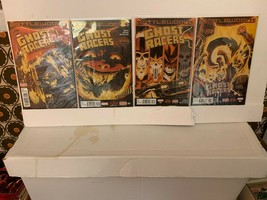 GHOST RACERS (MARVEL COMICS) 2015 VF 4 BOOK LOT INCLUDES FREE SHIPPING #1-4 - $11.30