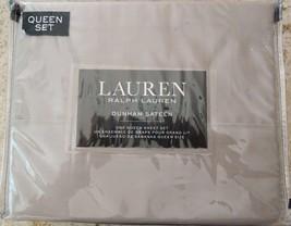Polo Ralph Lauren Dunham Queen Sheet Set Dove Gray Fast Ship 300 Thread ... - $74.04