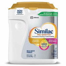 Similac Abbott Pro-Sensitive HMO Infant Formula Powder wit Iron with 2'-... - $35.99