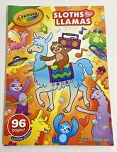 Crayola Coloring Book Sloths & Llamas 071662104962, T1 - $3.99