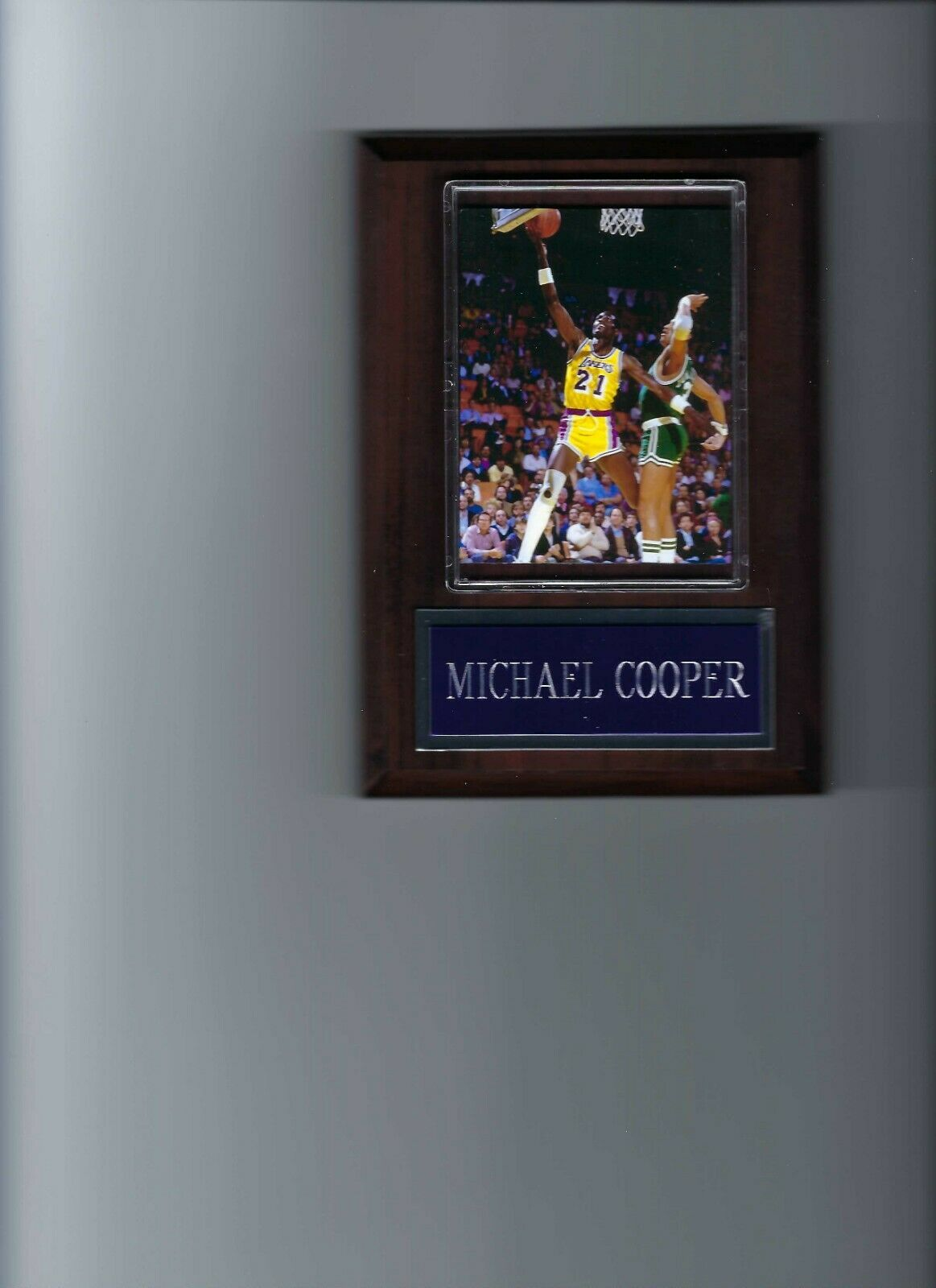 Primary image for MICHAEL COOPER PLAQUE LOS ANGELES LAKERS LA BASKETBALL NBA