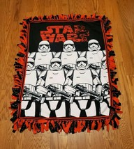 Star Wars Stormtroopers Fleece Tie Blanket - $56.99