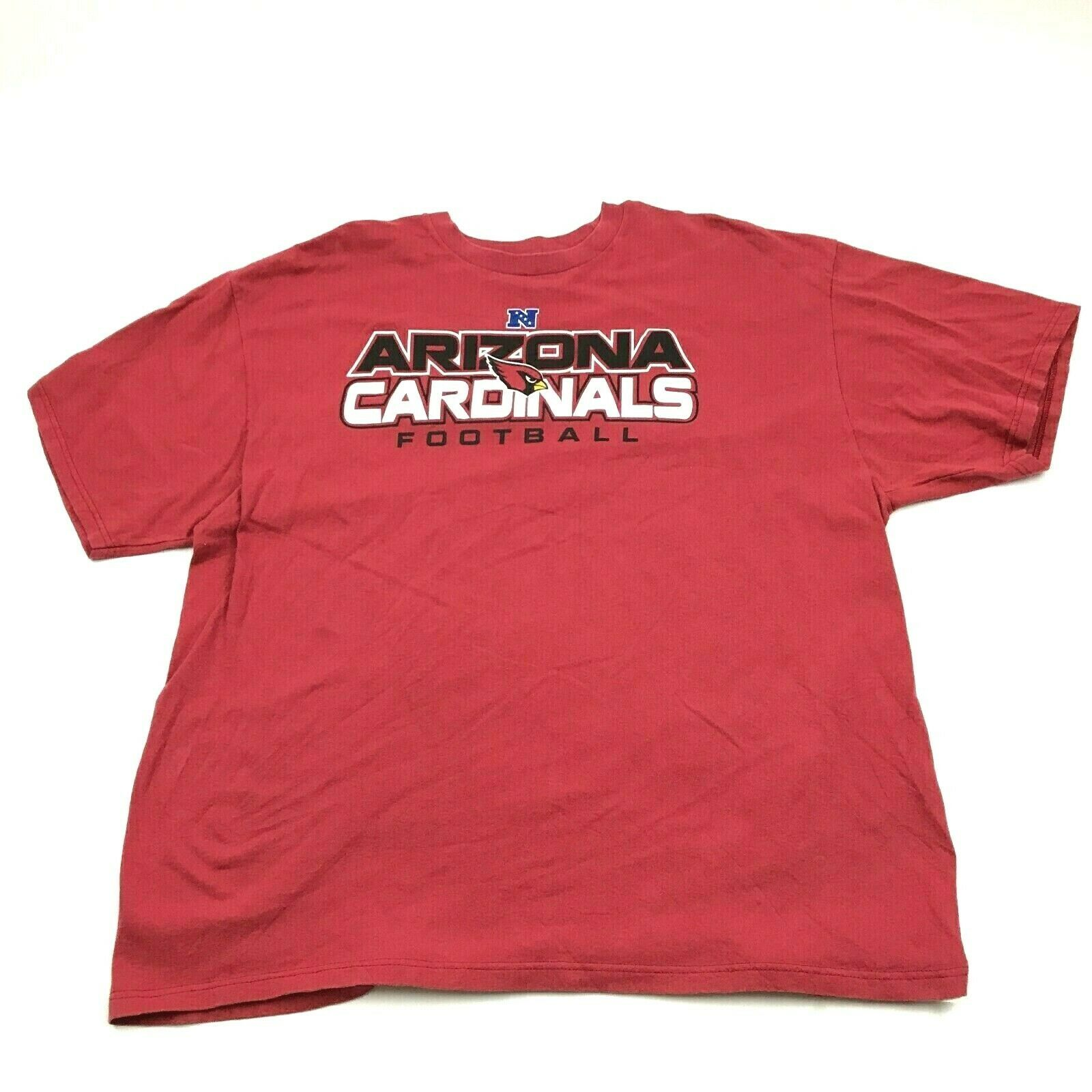 Primary image for NFL Team Apparel Arizona Cardinals Football Shirt Size 2XL XXL Red Tee Loose