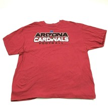 NFL Team Apparel Arizona Cardinals Football Shirt Size 2XL XXL Red Tee L... - $21.63