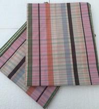 Ralph Lauren Marthas Vineyard 2 Pillow Shams Standard Plaid Pink - $24.75