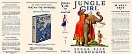 Edgar Rice Burroughs Dschungel Girl Reproduktion -umschlag für 1. Edition - $22.61