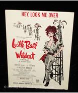 Lucille Ball In Wildcat Sheet Music Hey Look Me Over - $13.99