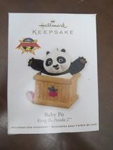HALLMARK KEEPSAKE ORNAMENT- BABY PO Kung Fu Panda 2 - 2011 - $9.00