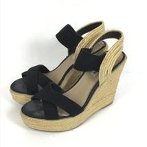 Steve Madden Size 8.5 EIRA Shoe Platform Wedge Sandal Espadrille Rope  B32-23 - $29.64