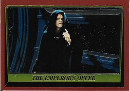 1999 Topps Star Wars Chrome Archives #85 The Emperors Offer > Palpatine - $1.49