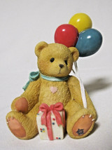 Cherished Teddies Nina Beary Happy Wishes Event Balloon Gift Figurine 21... - $12.25
