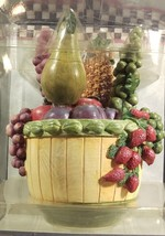 Boston Warehouse Debbie Mumm Spreader House Set Country Fruit Basket 2003 - $24.23