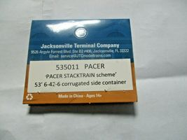Jacksonville Terminal Company # 535011 PACER  53' 6-42-6 Corrugated Container (N image 4