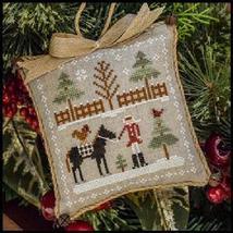 Horsin Around #2 Farmhouse Series cross stitch chart Little House Needleworks  - $5.40