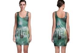 Ken Hensley Cold Autumn Sunday BODYCON DRESS - $21.99+