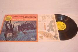 1964 DISNEYLAND RECORDS CHILLING THRILLING SOUNDS HAUNTED HOUSE & PARTY ... - $25.73