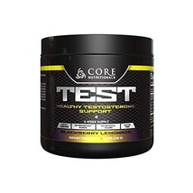 Core Nutritionals Test, Natural Testosterone Support 4 Week Supply BlackBerry Le