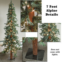 Alpine Rustic Holiday Christmas trees 5ft 6ft 7ft  - $119.95+