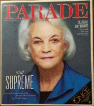 Sandra Day O'Connor, James Bond Day @ PARADE Las Vegas Magazine Sept 2012 - $3.95