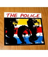 The Police ORIGINAL 1983 SYNCHRONICITY Licensed Transparent Window Decal... - $9.46