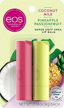 eos Super Soft Shea Lip Balm - Coconut Milk and Pineapple Passionfruit |... - $6.93+