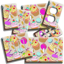 C UPC Akes And French Macaron Cookies Light Switch Outlet Wall Plate Kitchen Decor - $9.99+