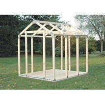 Storage Shed Kit DIY Outdoor Garage Barn Framing Building Hardware Brack... - $69.23
