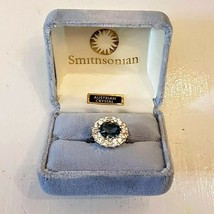 Smithsonian Institution Hope Diamond Ring Replica size 7 Mini Gems Collection - $148.41