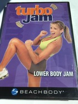 Nuovo Turbo Jam-Lower Corpo Strozzascotte (DVD, 2005) Beachbody-Factory - $11.51