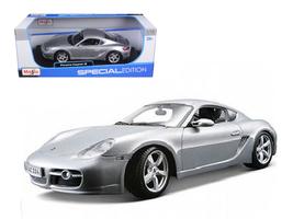 Porsche Cayman S Silver 1/18 Diecast Model Car by Maisto - $65.99