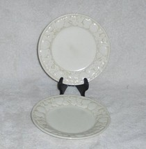 "2 VERNON WARE BY METLOX MADE IN CALIFORNIA 7.5"" DESSERT SALAD PLATES - $14.99"