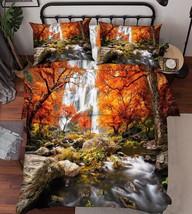 3D River Falls 1 Bed Pillowcases Quilt Duvet Cover Set Single Queen King Size AU - $64.32+