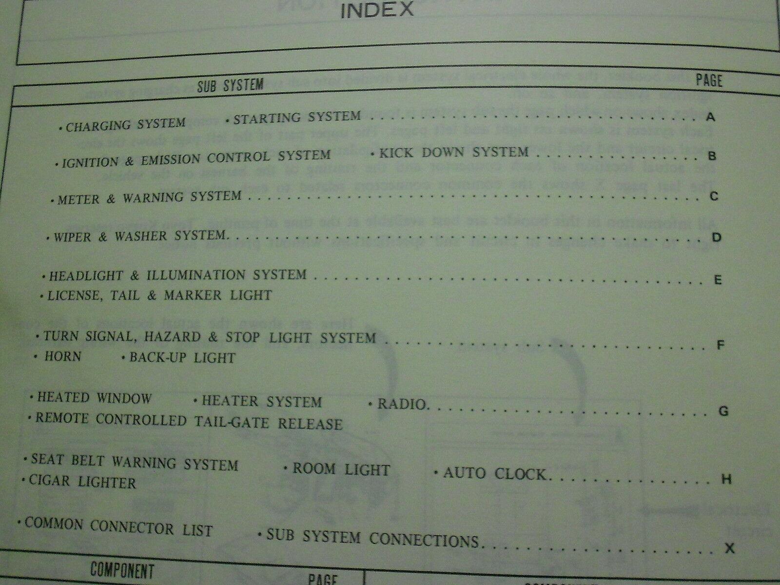 1980 Mazda Glc Service Reparatur Shop Manuell Set Fabrik OEM Bücher Selten 80