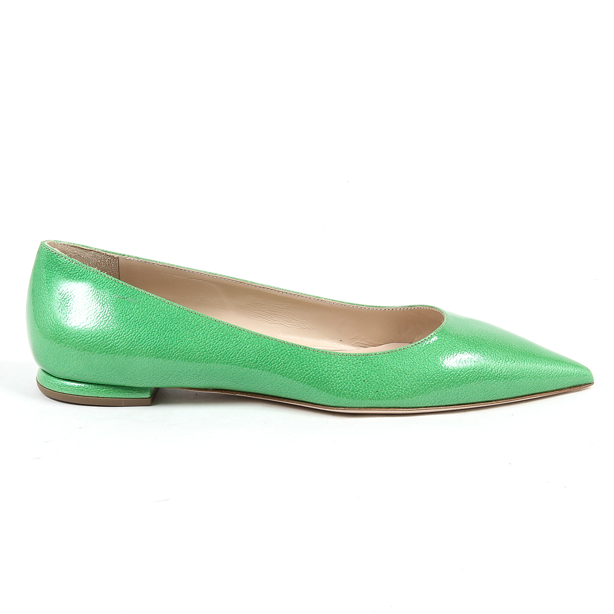 Primary image for V 1969 Italia Womens Ballerina Green CHIARA