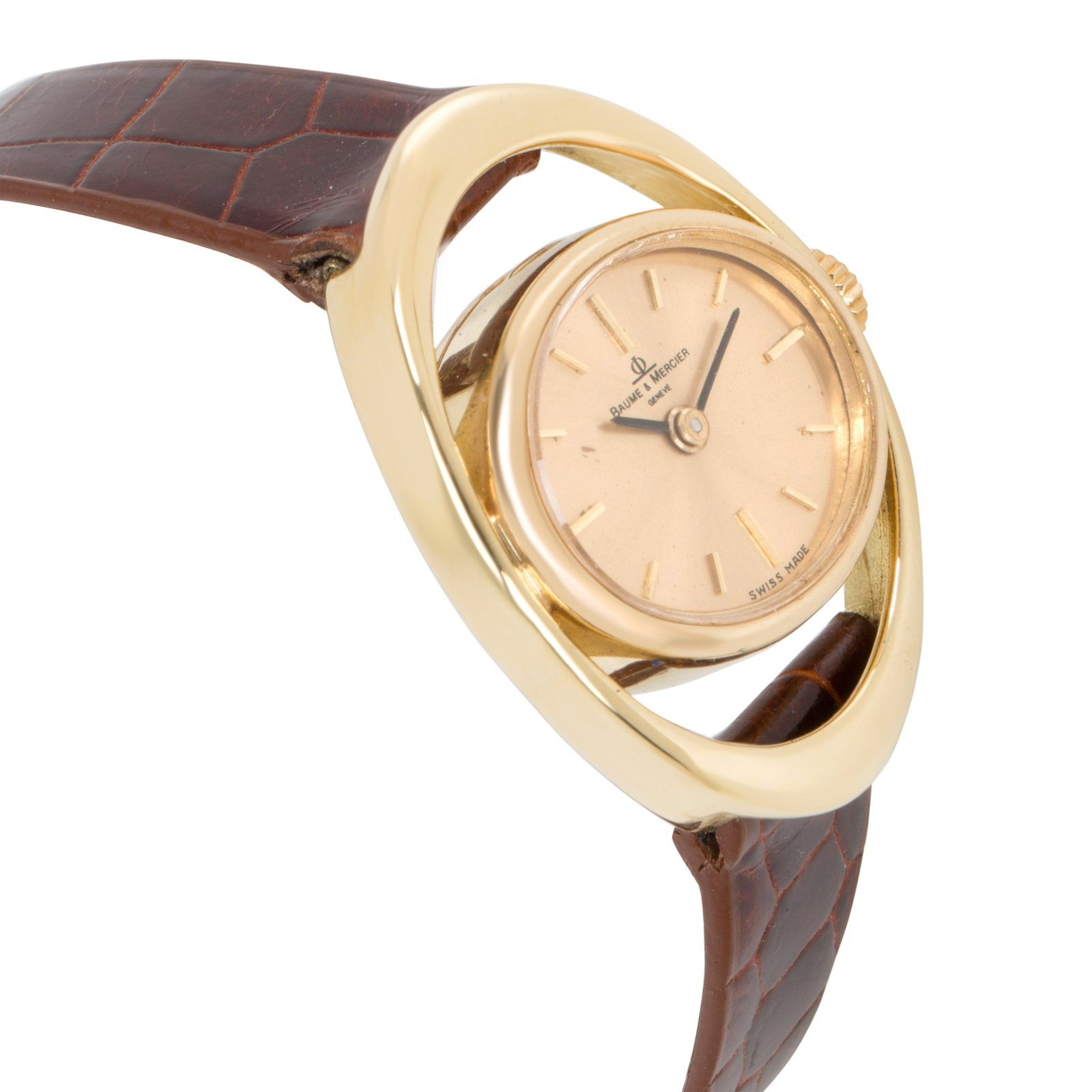 Baume & Mercier Vintage 36642.9 Ladies Watch in 18K Yellow Gold