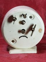 INGRAHAM  ALARM  CLOCK  WIND UP FOR PARTS ONLY GREAT LOOKING DIAL AND CASE image 3