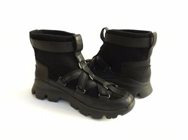 UGG PUFF MOMMA LAKES & LIGHTS BLACK WINTER FUR SNEAKERS US 11 / EU 42 / UK 9 image 2