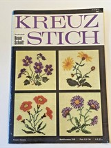Vintage 1965 Kreuz Stich Stitching Magazine Neuer Schnitt - Written in G... - $15.75
