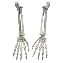 Halloween Gothic Skeleton Hand Arms Bone Haunted House Escape Horror Pro... - $20.31