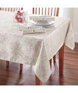 New Winter Wonderland Winter Shine Tablecloth Silver Variety Sizes - $29.69+
