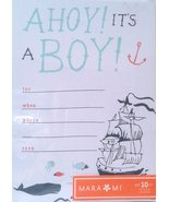 Baby boy announcement cards - $9.68