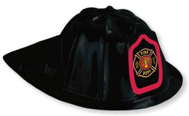 Kids Plastic Fire Fighter Helmet (1) - $2.21