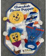 2004 Chanukah Plush Finger Puppets Jewish Holiday Child Toy Gift New Set... - $9.89