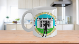 A Woman's Place is in the White House Mug Madam Vice President Kamala Fe... - $14.65+